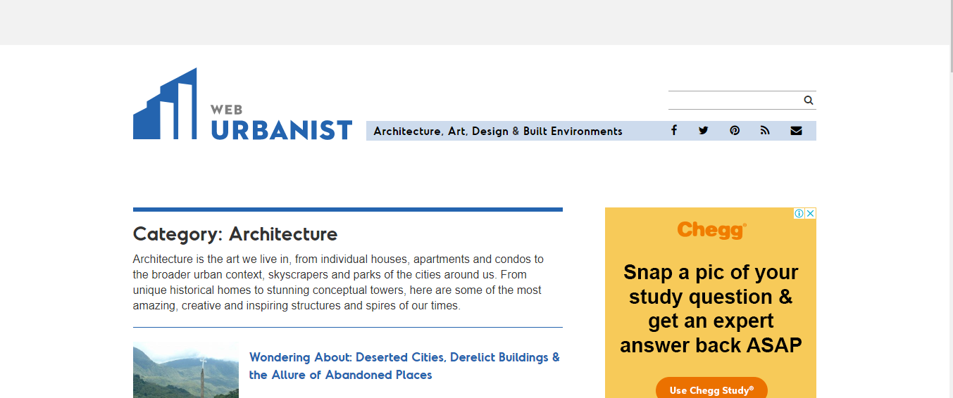 web urbanist