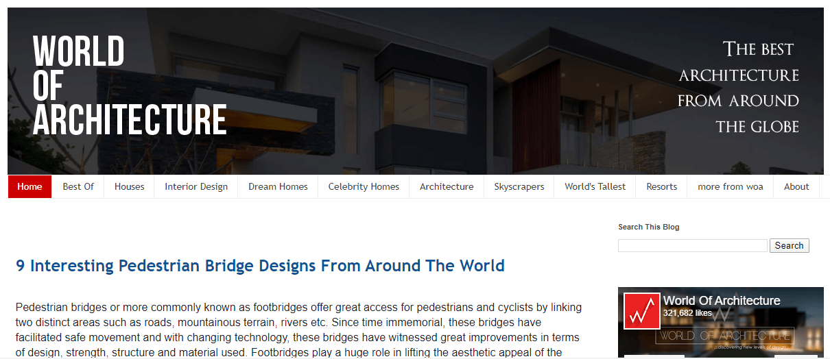 word of architecture
