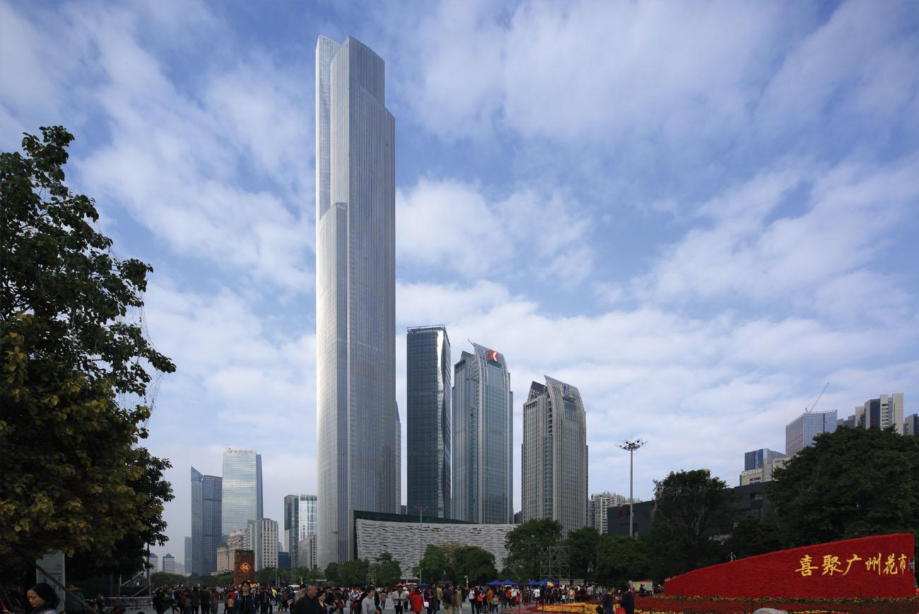 CTF Finance Center, Guangzhou
