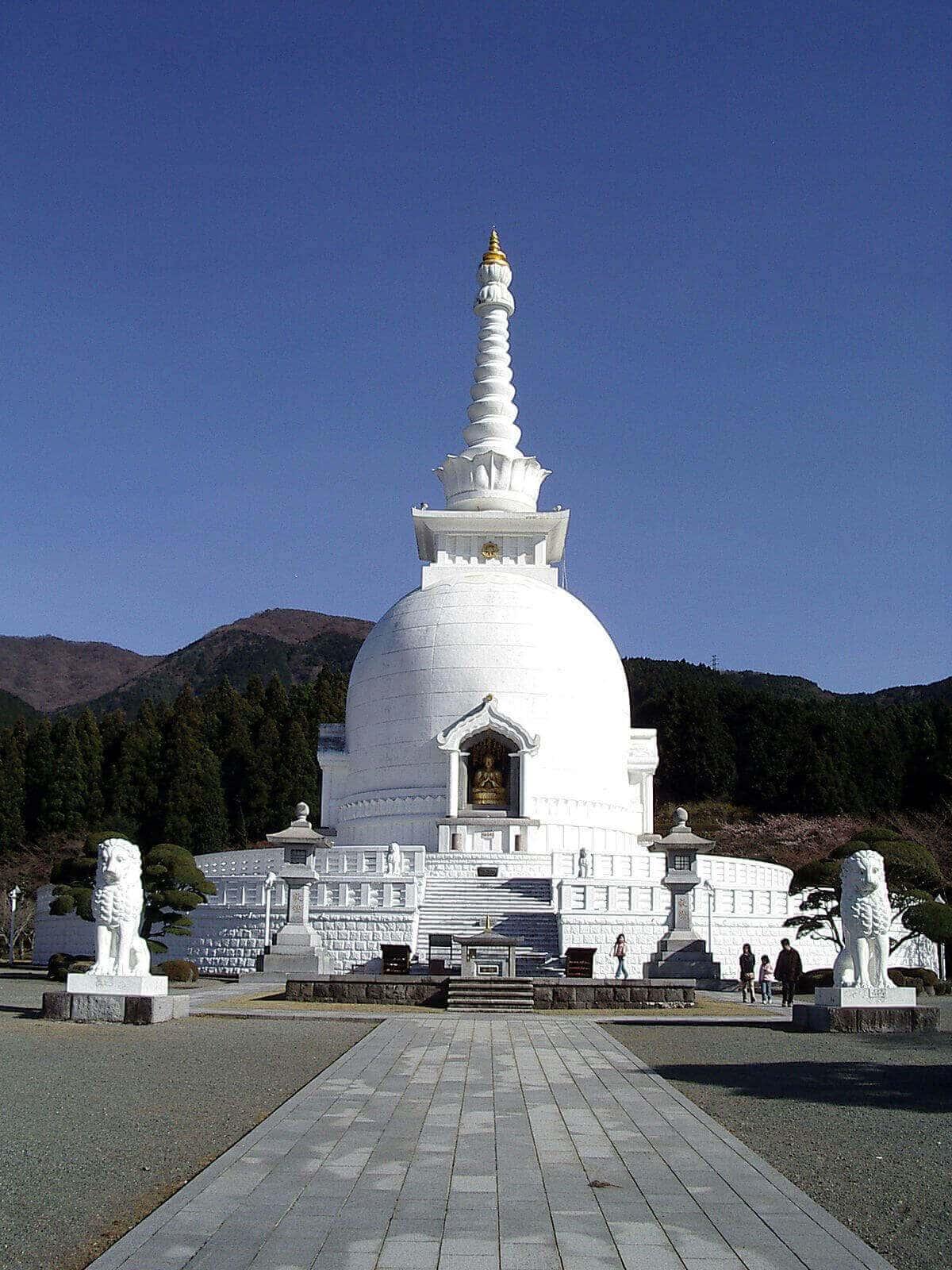 Miaoying Temple White Stupa Pagoda