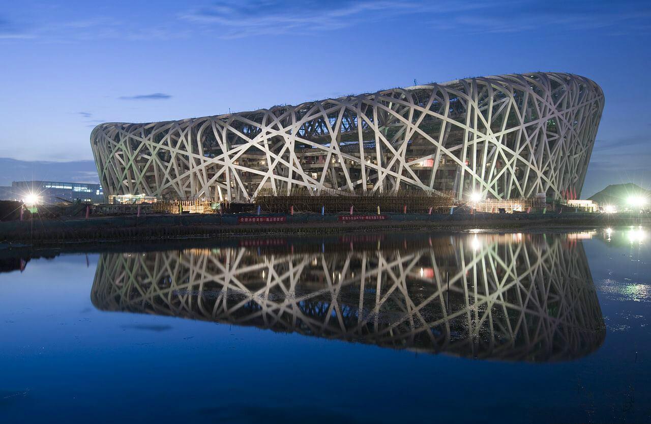 The National Stadium, or The Bird's Nest, Beijing