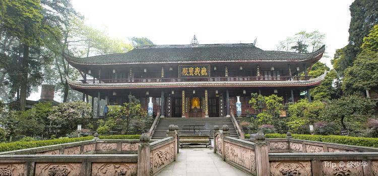Wannian Temple, Mount Emei