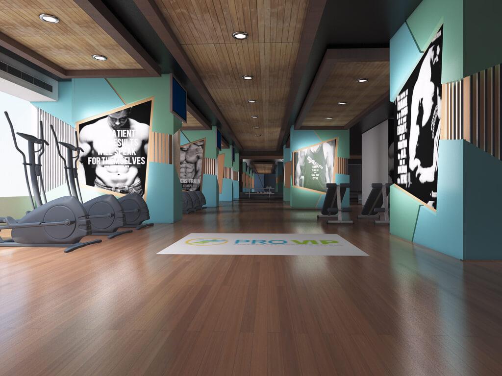gym interior design