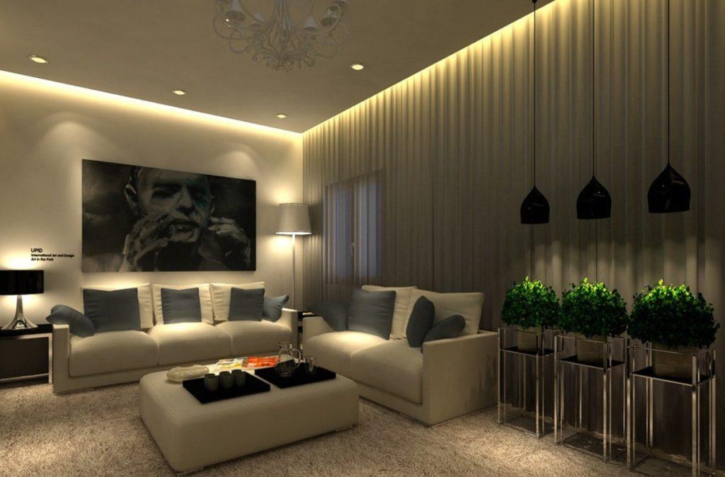 light in ceiling