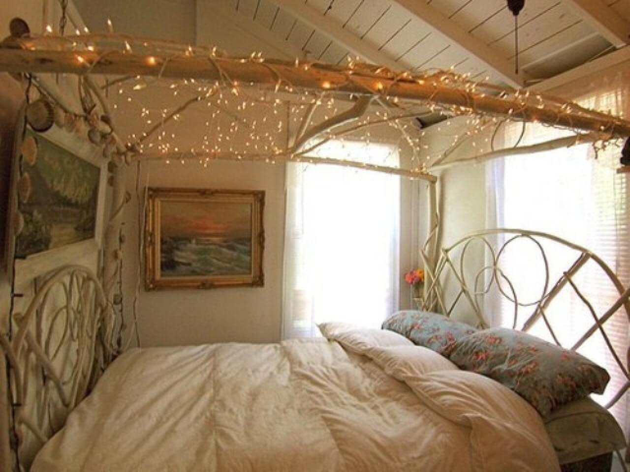 twinkal light in bedroom