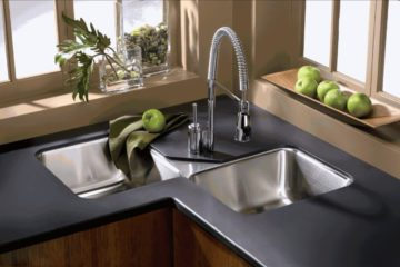 Corner-Kitchen-Sink