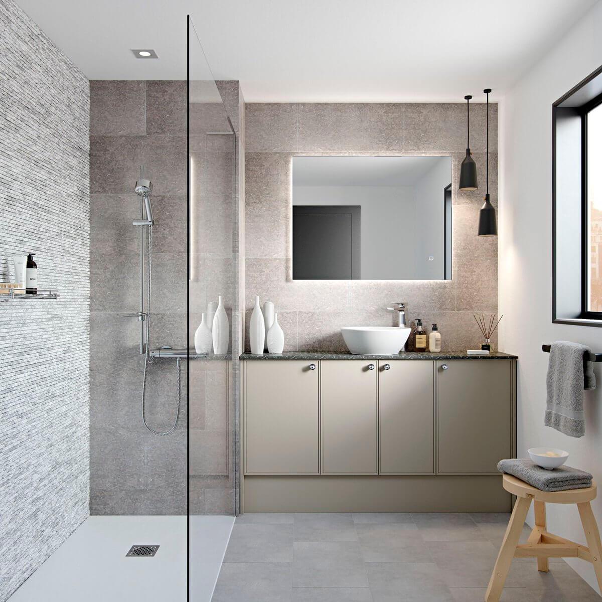 Saving Space In Bathroom