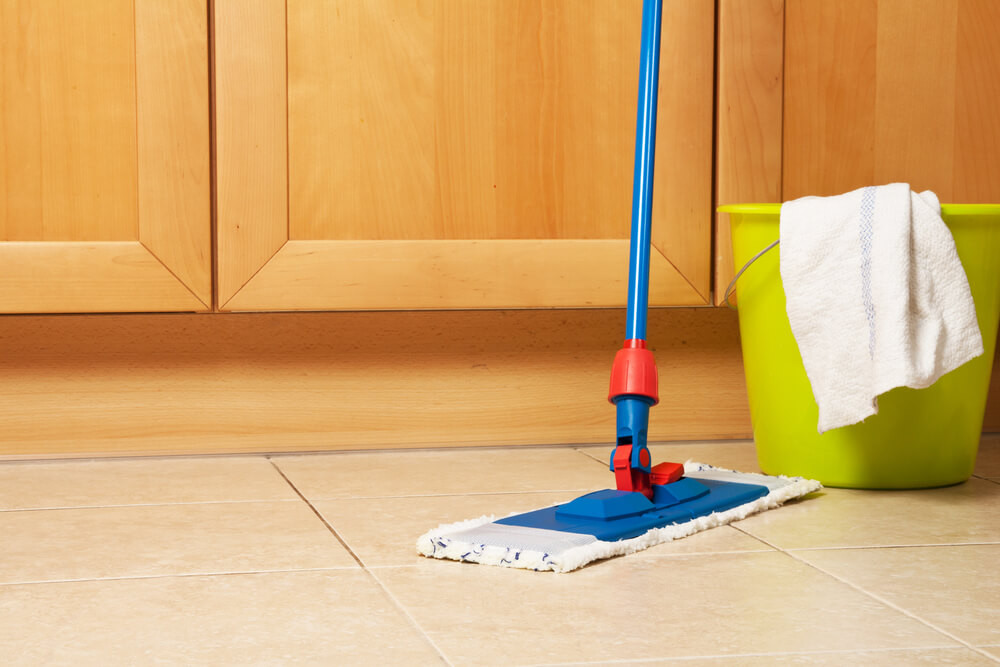 bathroom cleaner for long time