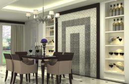 dining wall design