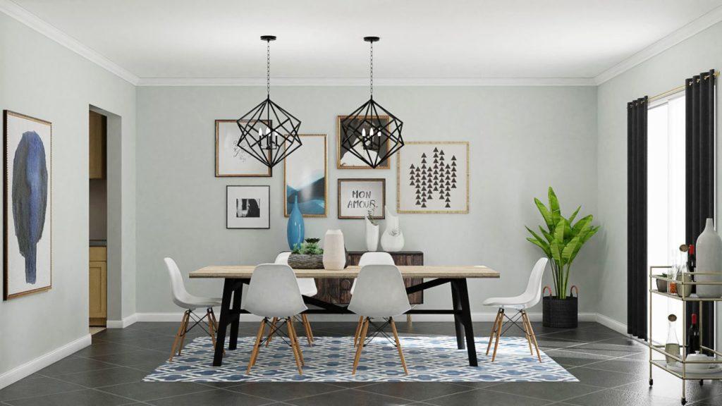 dining wall design