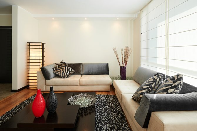 decorate  home  minimalist space