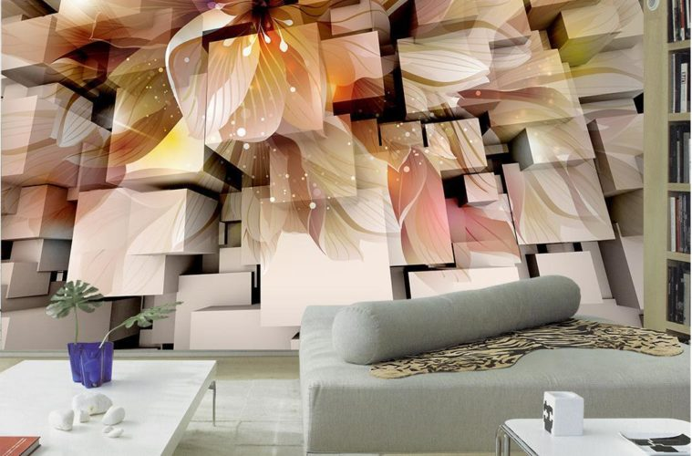 Decorate Your Home With 3d Wallpaper Or Paint Designs The Architecture Designs