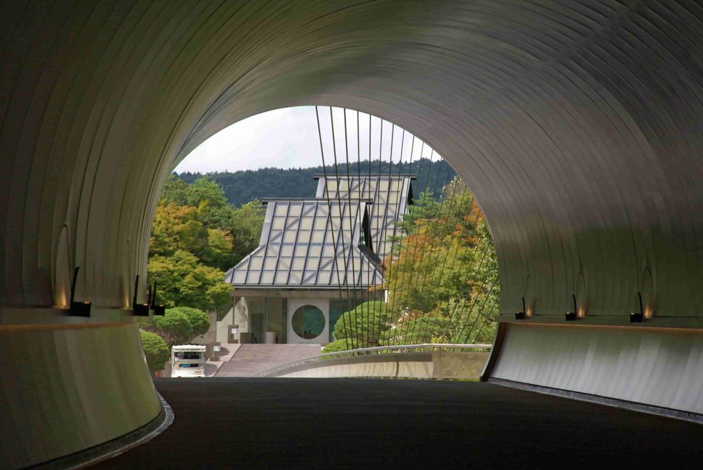 Miho Chapel, Koga City, Japan