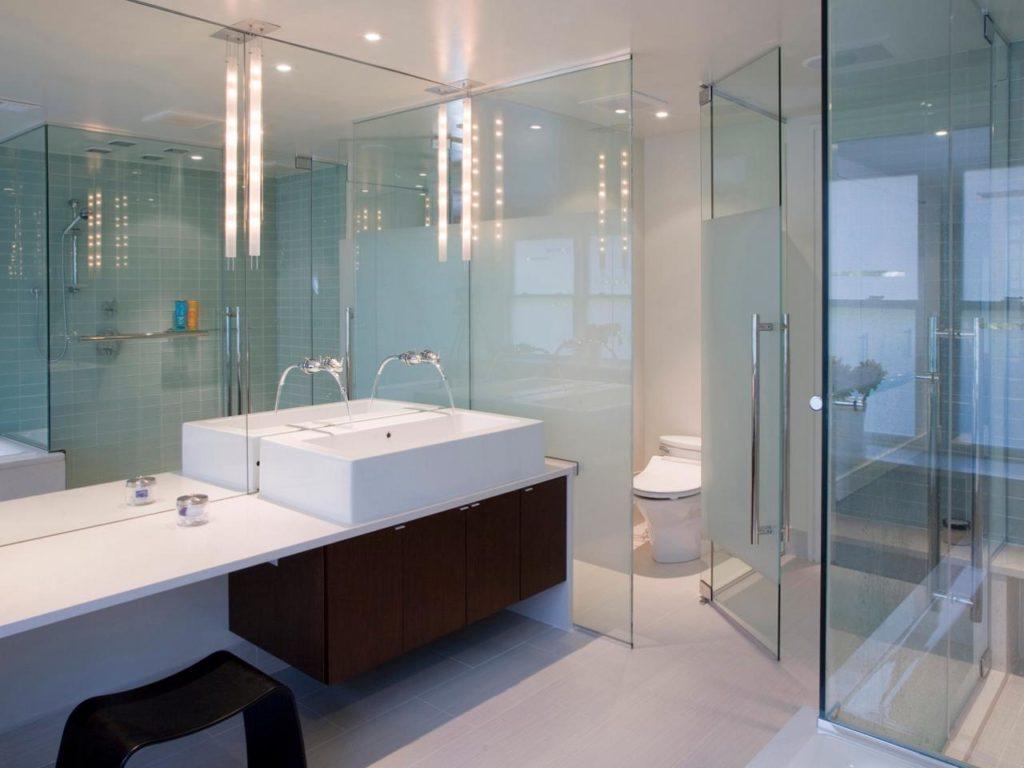 bathing space