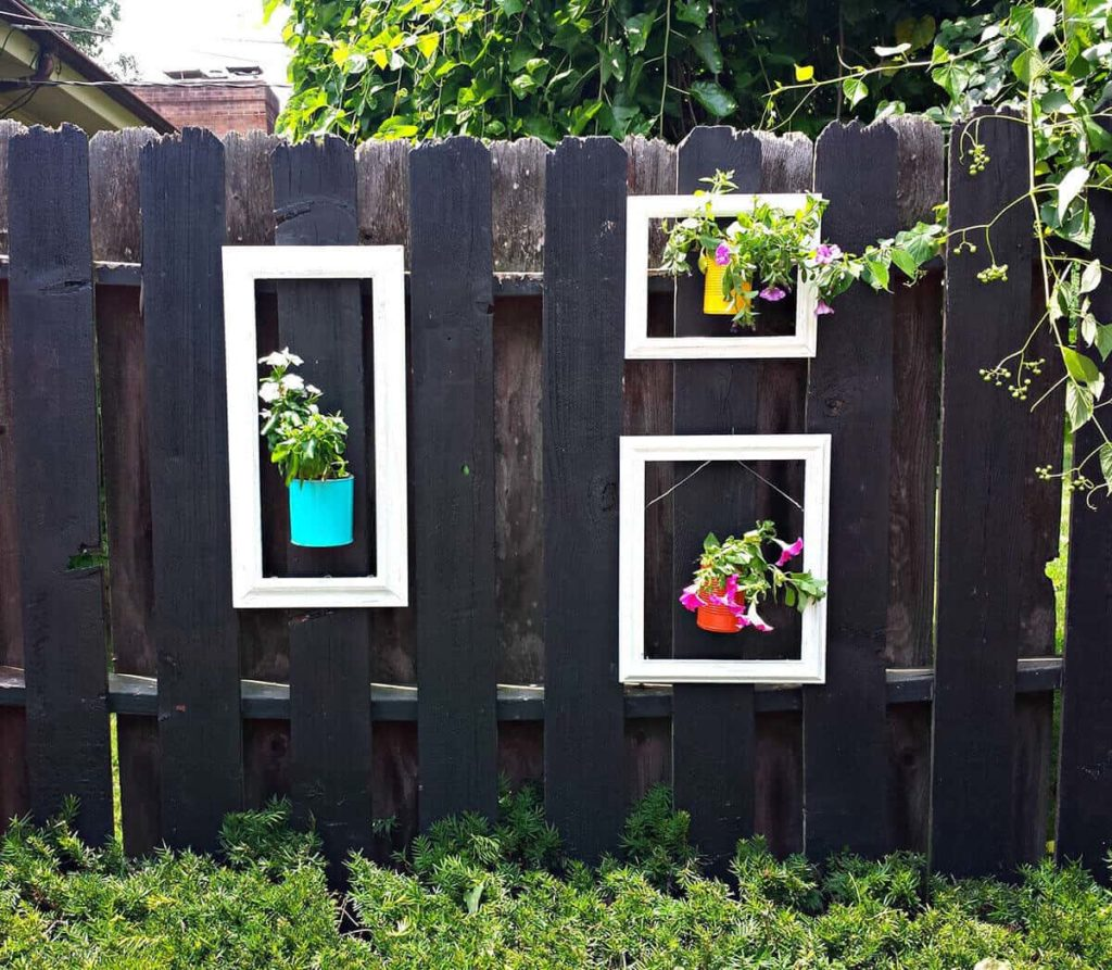 fence decoration