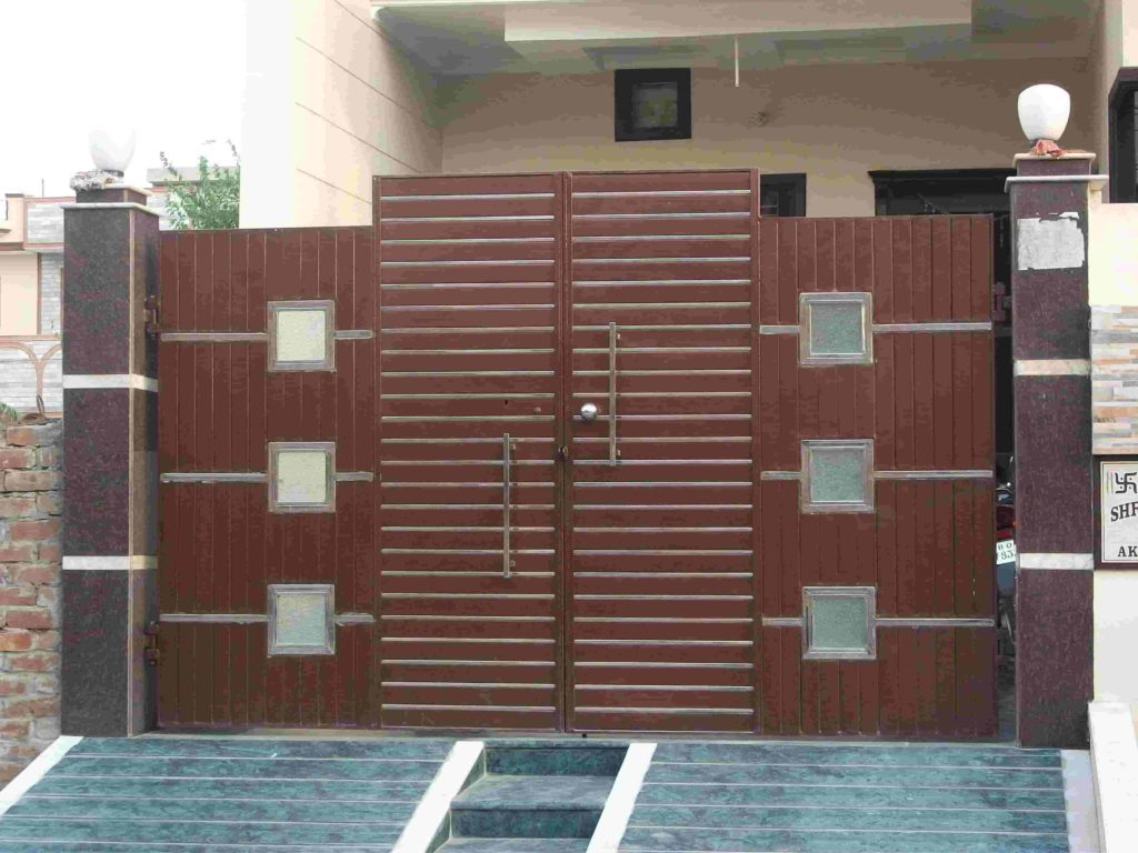 Modern Front Gate Designs For Modern Home The Architecture Designs
