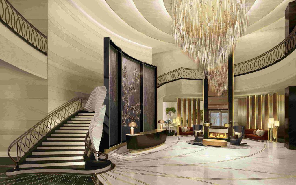 hotel lobby design