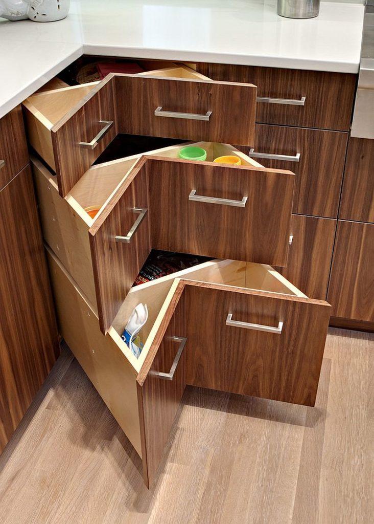 kitchen corner drawer