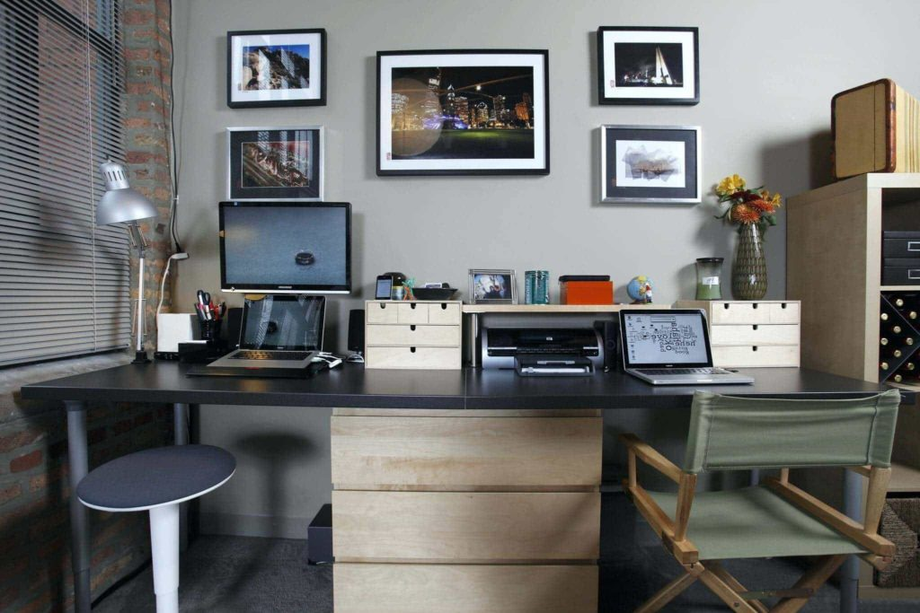 vintage home office