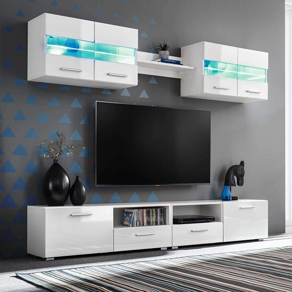 LED light in TV unit