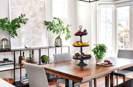arrange dining table