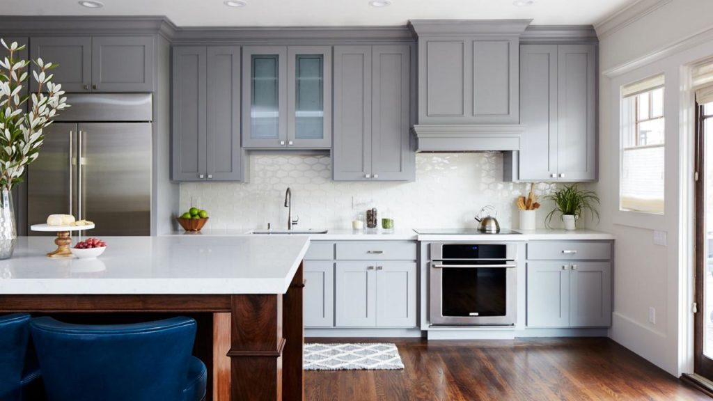 why should i choose gray kitchen cabinets  the