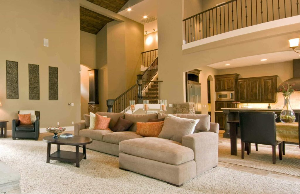 lavish home interior
