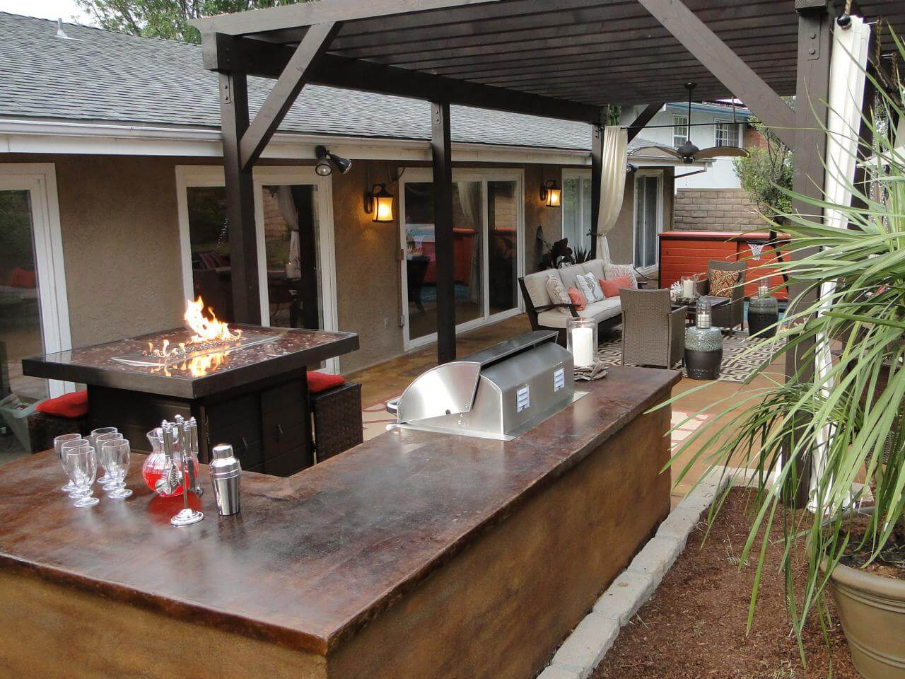 outdoor bar ideas