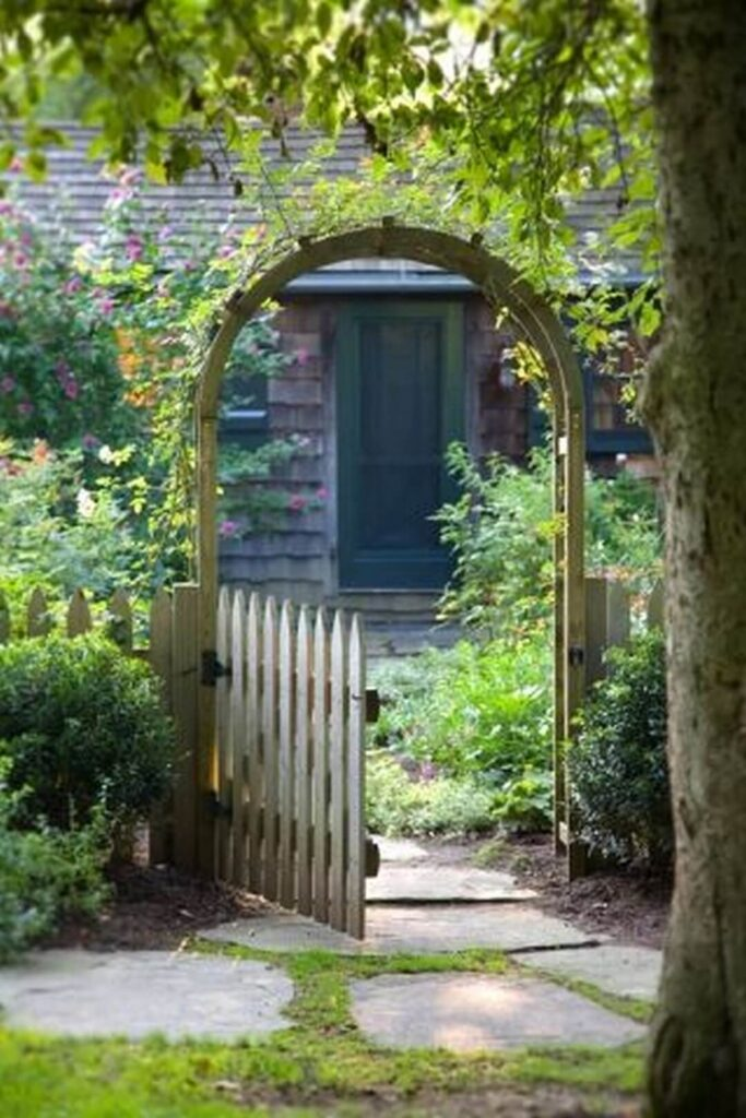 rustic garden