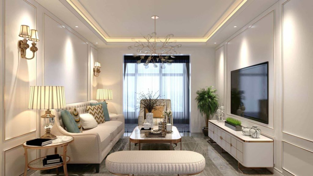 tinny apartment decoration