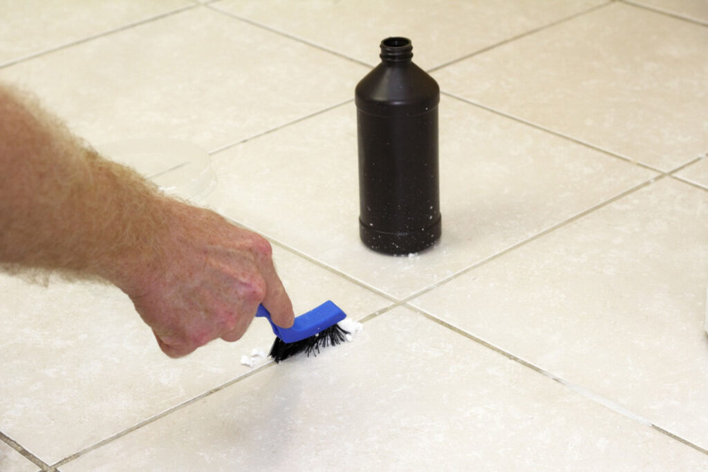 Clean Grout Without Scrubbing