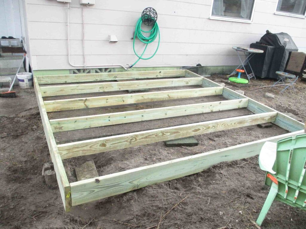 Framing And Building Deck