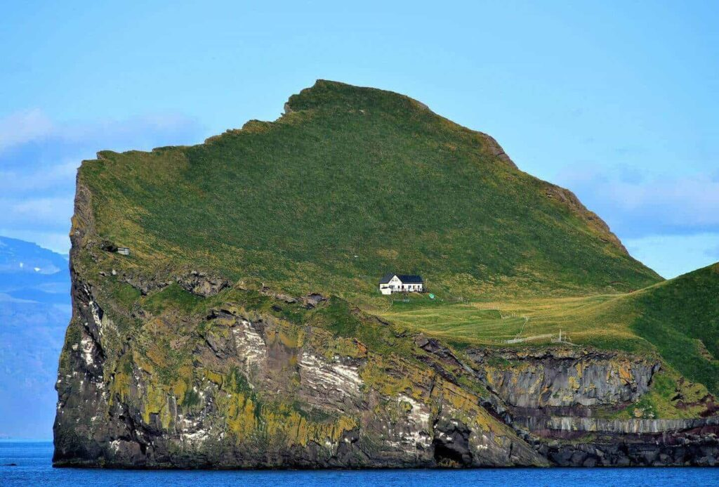 House On Ellidaey Island