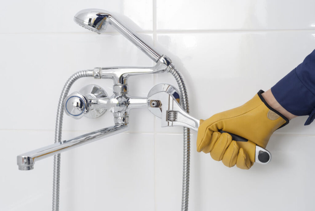 Repairing a Faulty Shower Faucet