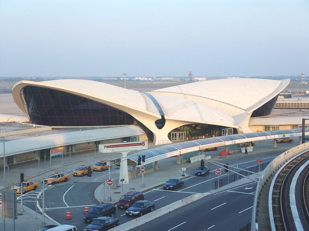 TWA Terminal, John F. Kennedy International Airport, New York, USA