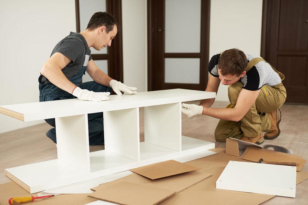 assemble furniture