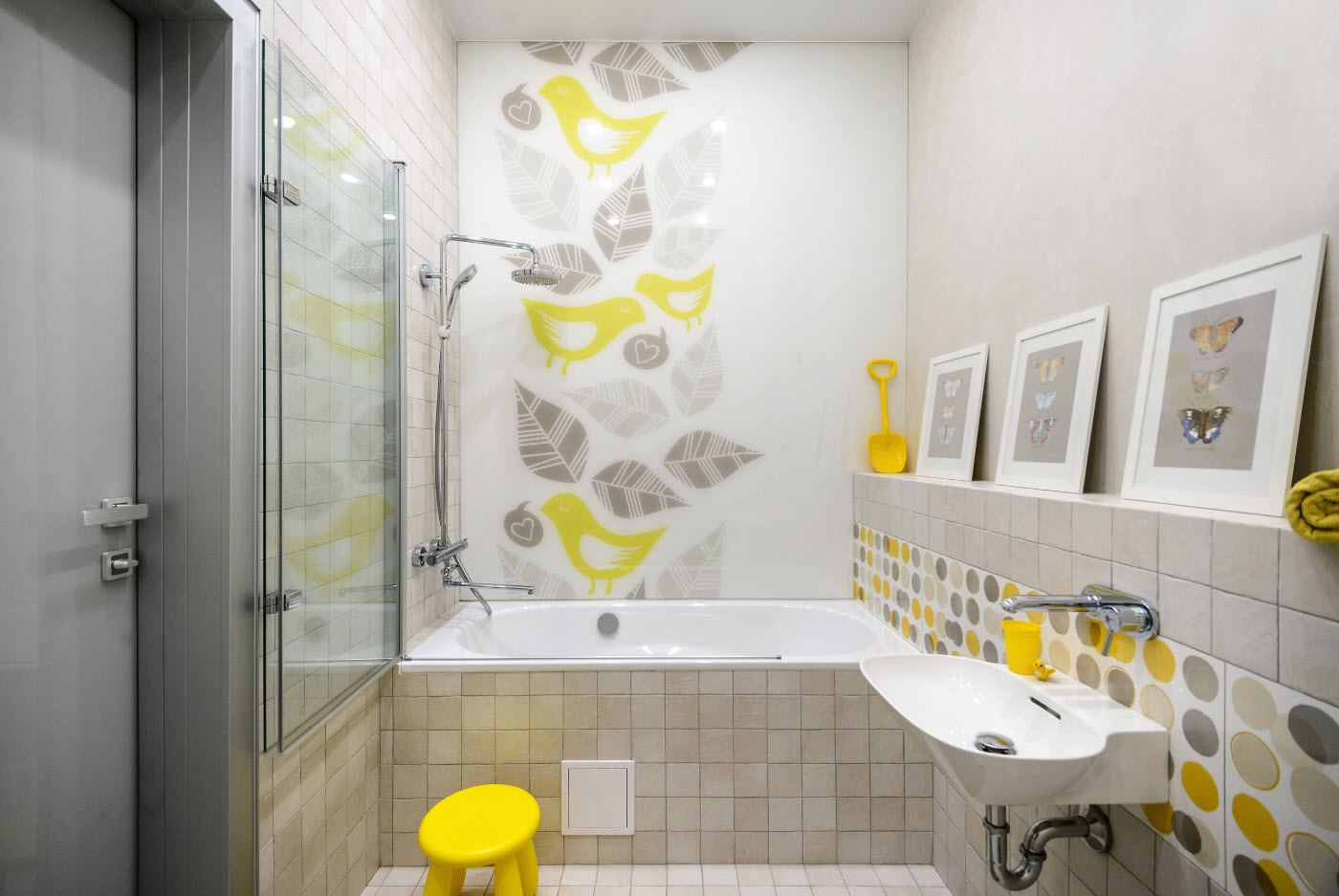 bathroom wall design
