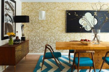 dining room wallpaper
