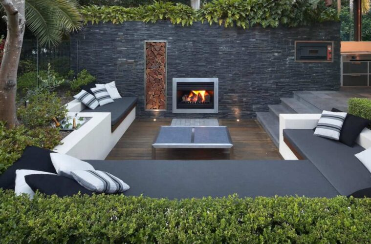 the fire pit