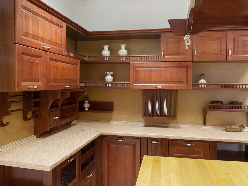 wood base kitchen design