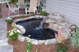 Backyard Ponds With Waterfalls