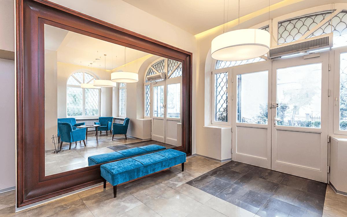 Full-Length Mirror in Home