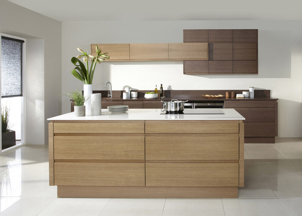 Handleless Kitchen Drawers