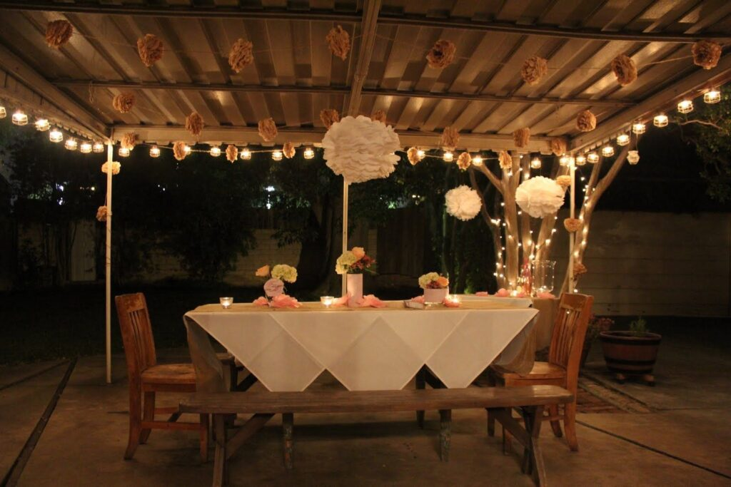 Outdoor Place for Night Party