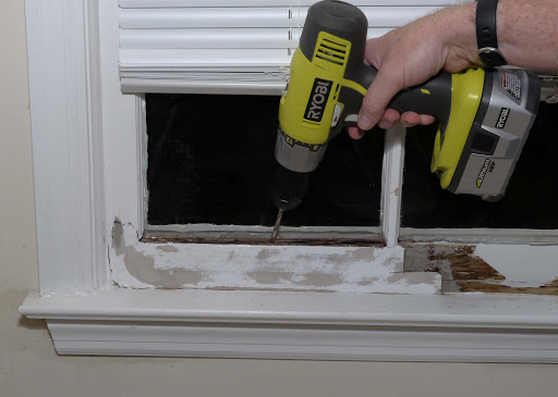 Repair Rotted Window Frame