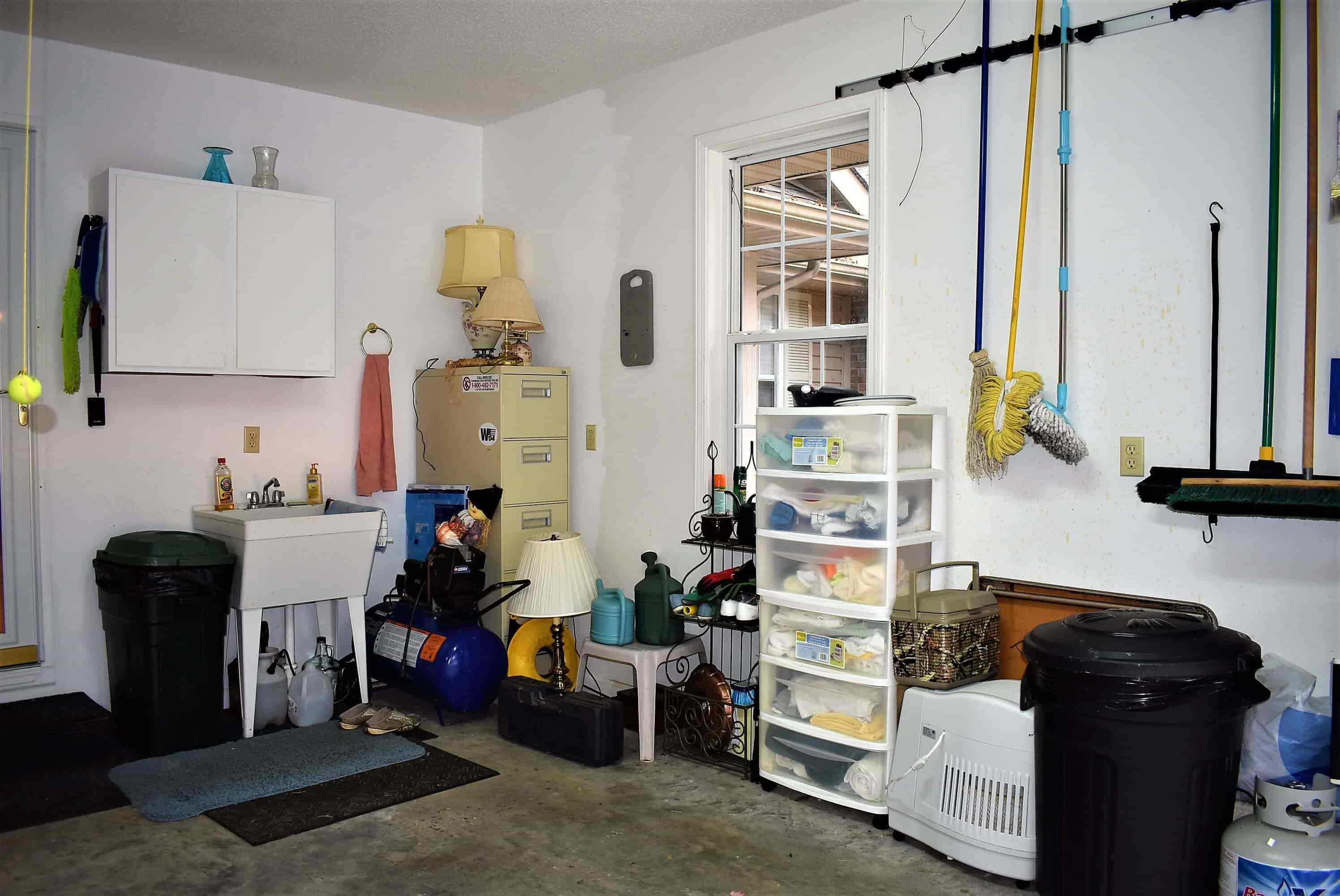 Utility Sink in Garage