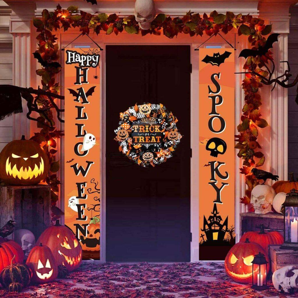 halloween enteryway