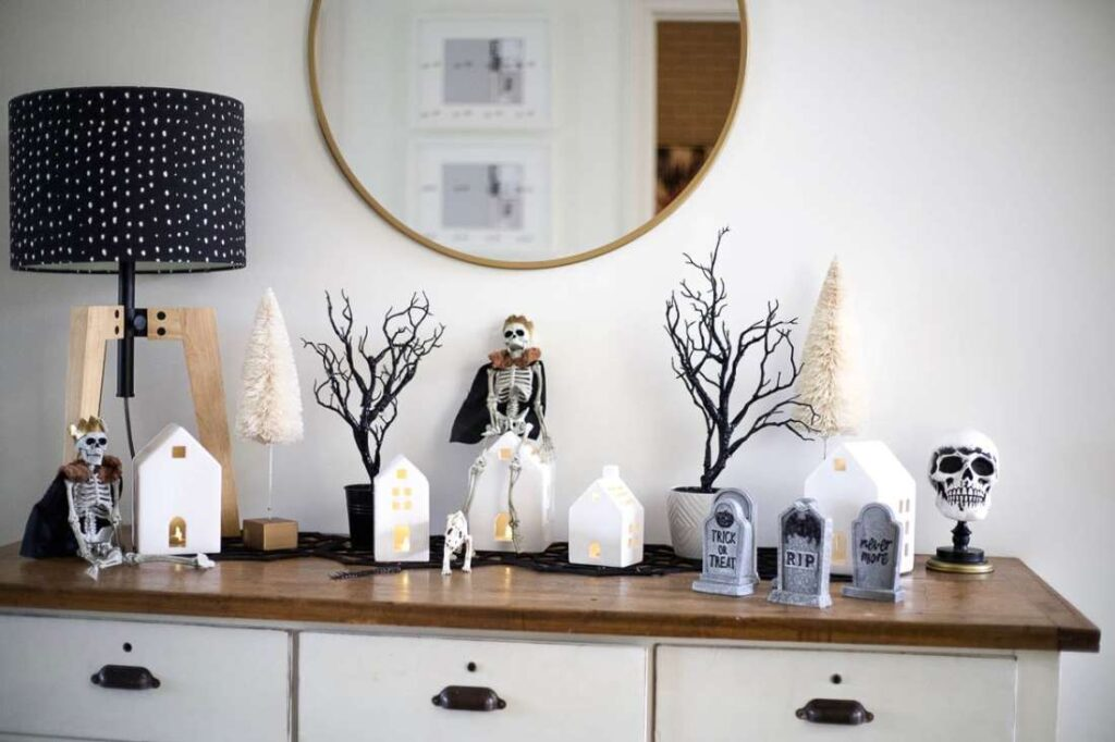 Halloween home decor