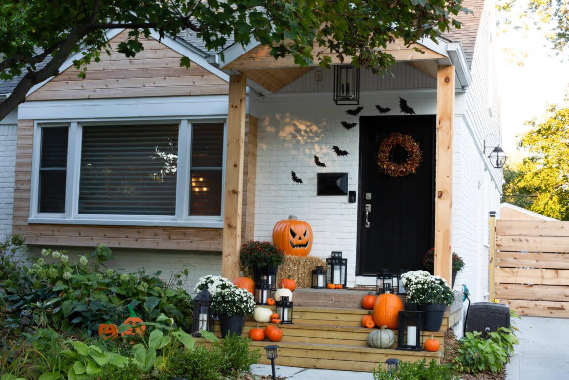 Halloween home decor