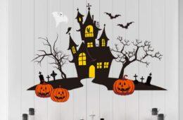 Halloween wall art